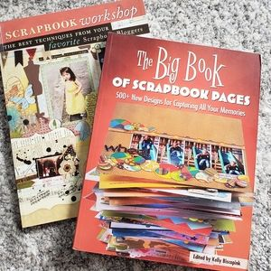 Scrapbooking Books (set of 2)